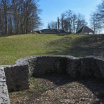 Remains of an Arian temple in modern Slovenia